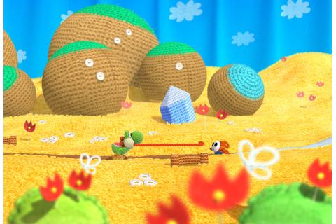Yoshi's Woolly World (Nintendo Wii U) Hands-On Preview ...