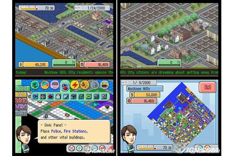 SimCity DS Review - IGN