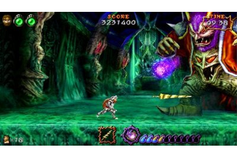 Ultimate Ghosts'N Goblins - PSP - Review