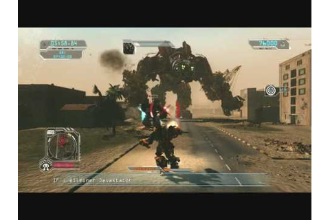 Transformers 2 Video Game BI vs Devastators - YouTube