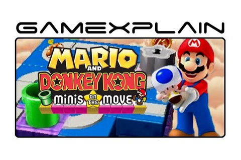 Mario and Donkey Kong: Minis on the Move - Game & Watch ...