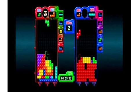 Review - Tetris Party Deluxe (Wii) - YouTube