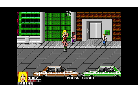 OpenBoR games: Double Dragon IV - Infinity Beat'em Up ...