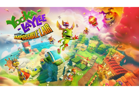 Brand new Yooka-Laylee and the Impossible Lair trailer ...