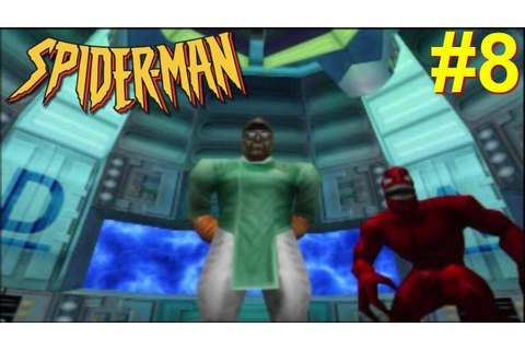 Spider-man PS1 Gameplay #8 [Spidey vs Doc Ock and Carnage ...