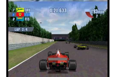 F1 2000 PS1 no PC - YouTube