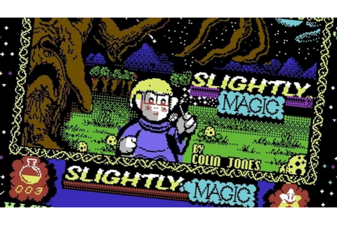 [HD] Slightly Magic - in-game music from C64 (Radoslaw ...