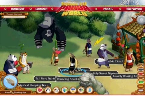 Dreamworks Launches Kid-Addicting Kung Fu Panda World ...