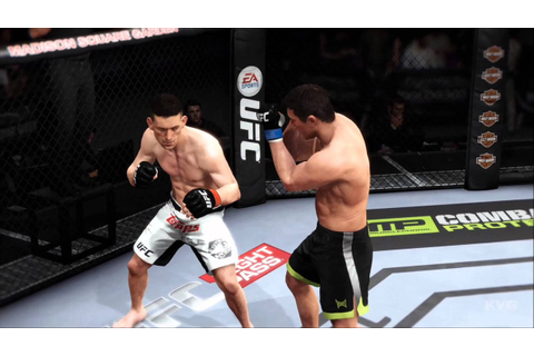 EA Sports UFC - Demian Maia vs Chael Sonnen Gameplay (PS4 ...