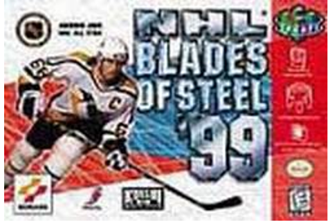 NHL Blades of Steel '99 Nintendo 64 N64