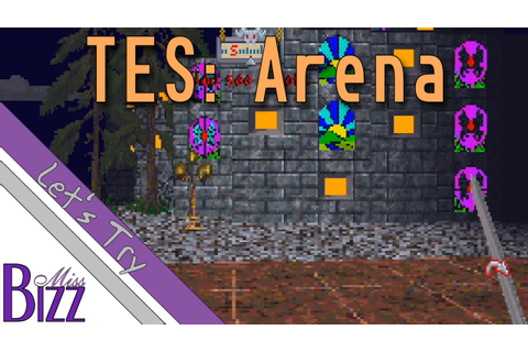 Let's Try The Elder Scrolls Arena! The First Elder Scrolls ...