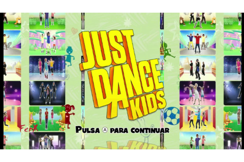 [Wii] Just Dance Kids - Song list + Extras - YouTube