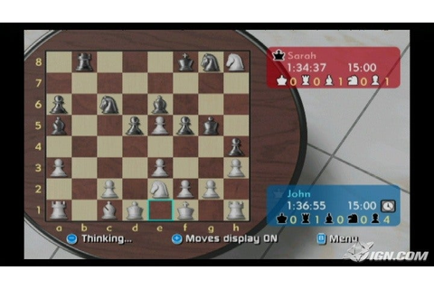 Wii Chess Screenshots, Pictures, Wallpapers - Wii - IGN