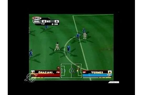 ESPN MLS Extra Time 2002 GameCube Gameplay - Goallllll ...