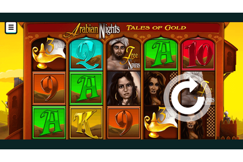Arabian Nights | Up to 100 free spins no deposit | Bonus Boss