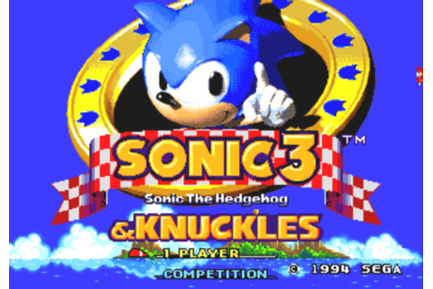 Retro Game Geek-Out: A Review of Sonic 3 & Knuckles | The ...