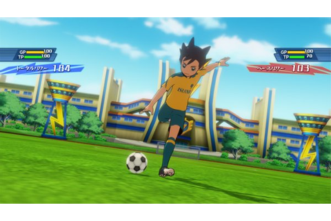 Inazuma Eleven Ares details soccer matches, toy link - Gematsu