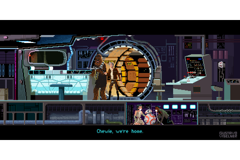 Star Wars Pixel Art - Created by Gustavo Viselner