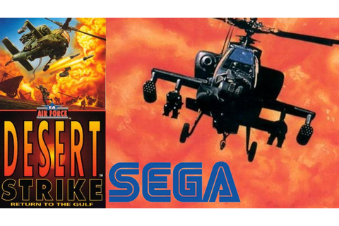 Desert Strike: Return to the Gulf Gameplay & Review SEGA ...