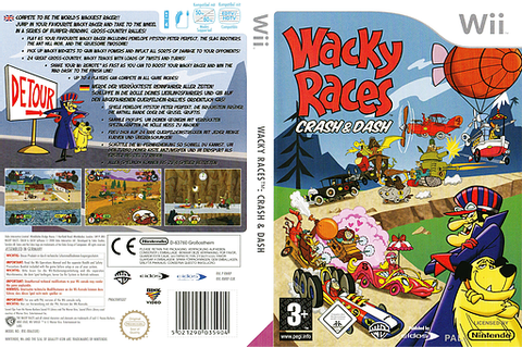 RWRP4F - Wacky Races: Crash & Dash