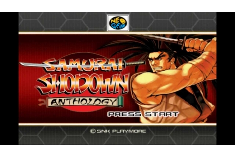 Samurai Shodown Anthology - Game Intro [PS2] ***HI-QUALITY ...