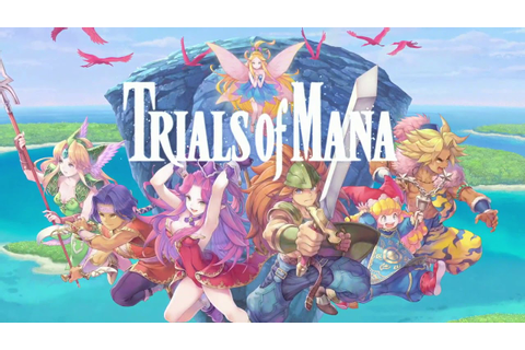 Trials of Mana Remake + Collection of Mana Reveal Trailer ...