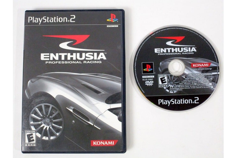 Enthusia Professional Racing game for Playstation 2 | The ...