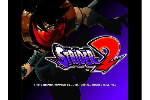 STRIDER 2:ARCADE - YouTube