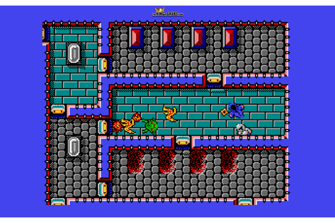 Ranarama, Atari ST – The King of Grabs