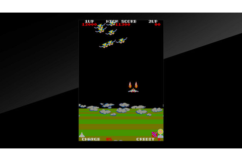 Arcade Archives EXERION Game | PS4 - PlayStation