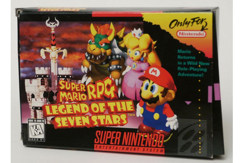 An SNES Game Review: Super Mario RPG: Legend of the Seven ...