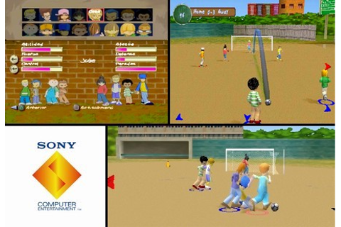 XS Junior League Soccer (NTSC-U PAL EU Eng Fr Ger Ital Spa ...