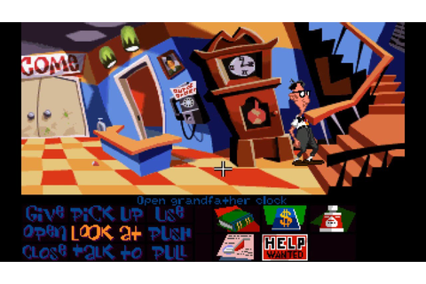 Day of the Tentacle (1993) (Talkie Version) [MS-DOS] - YouTube