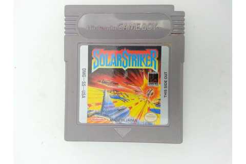 Solar Striker game for Nintendo GameBoy - Loose ...