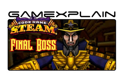 Code Name: S.T.E.A.M. - Final Boss Fight - YouTube