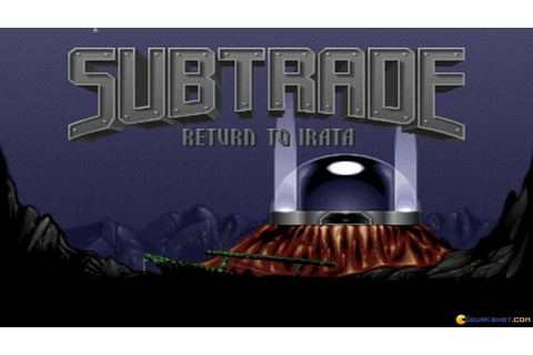 Subtrade: Return to Irata gameplay (PC Game, 1992) - YouTube