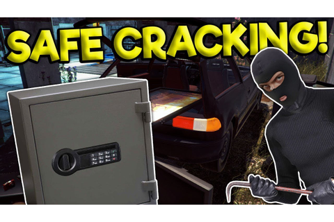CRACKING OPEN A SAFE & GETTING CAUGHT! - Thief Simulator ...