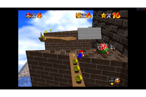 Super Mario 64- Blast away the wall speedrun attempt - YouTube