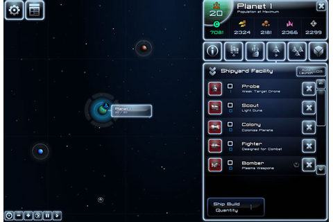 Starship Commander - Strategy games - GamingCloud