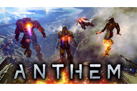 Anthem Official Gameplay Reveal in 4K Gameplay Xbox One X ...