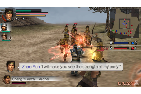 Dynasty Warriors Vol. 2 PSP Gameplay HD - YouTube