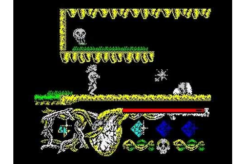 Hundra Walkthrough, ZX Spectrum - YouTube