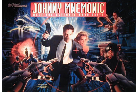 Johnny Mnemonic Pinball Machine For Sale | Liberty Games