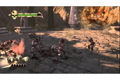 Golden Axe: Beast Rider (PS3) Gameplay - YouTube
