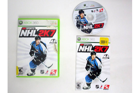 NHL 2K7 game for Microsoft Xbox 360 | The Game Guy