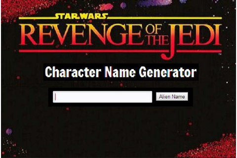 Character Tools - Revenge of the Jedi MUD