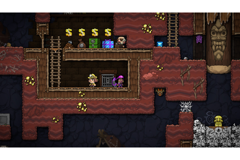 Spelunky 2 new gameplay trailer | Rock Paper Shotgun