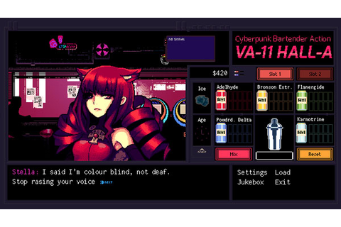 VA-11 Hall-A PAX East 2015 trailer - Gematsu