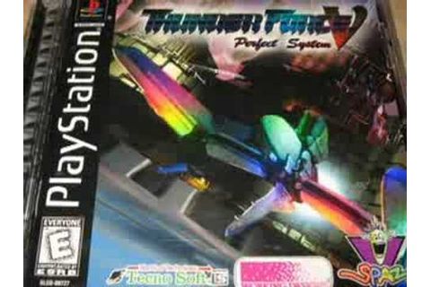 Classic Game Room - THUNDER FORCE V review for PlayStation ...