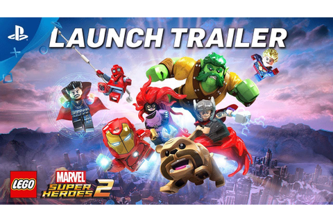 LEGO Marvel Super Heroes 2 – Launch Trailer | PS4 - YouTube